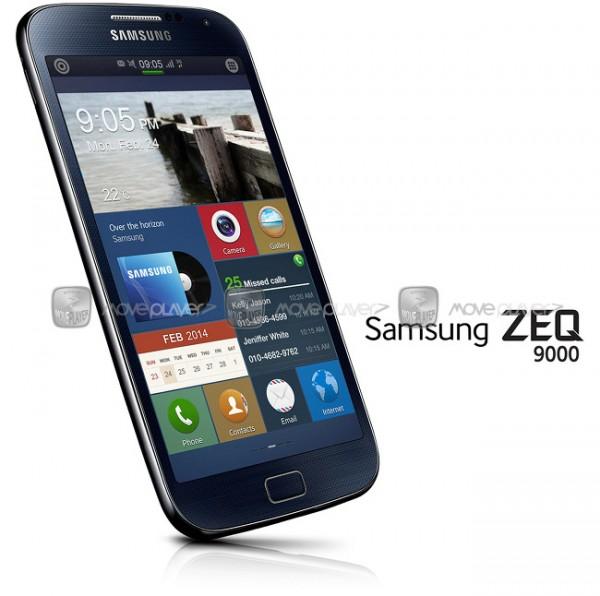 Väitetty MovePlayerin julkaisema vuotokuva Samsungin Tizen-puhelimesta