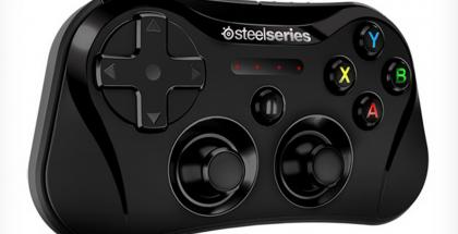 SteelSeries Stratus -peliohjain Applen laitteille