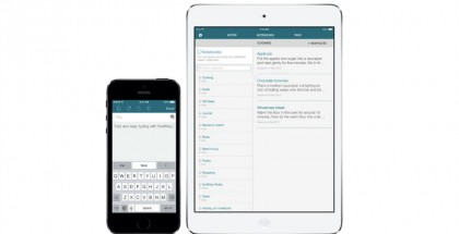 SwiftKey Note iPhonelle ja iPadille