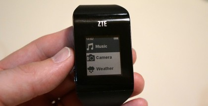 ZTE BlueWatch The Vergen kuvassa