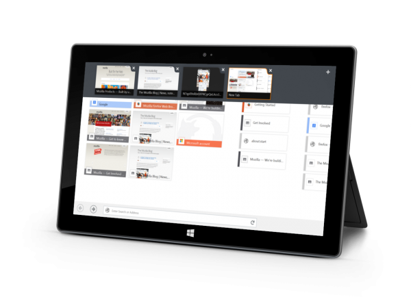 Mozillan uuden käyttöliittymän mukaisen Windows 8:n Firefox-selaimen elämä jäi lyhyeksi