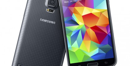 Samsung Galaxy S5 mustana värivaihtoehtona