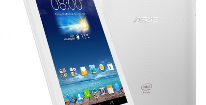 Asus FonePad 7 valkoisena