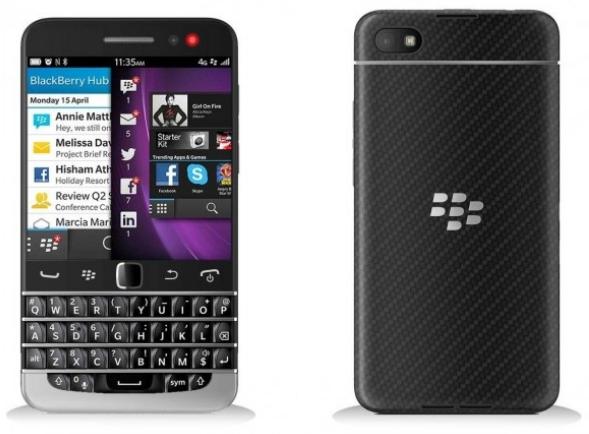 Havainnekuva BlackBerry Q20:stä