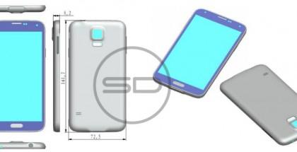 Sonny Dicksonin vuotama kuva, joka on väitetty olevan kuva Galaxy S5:stä