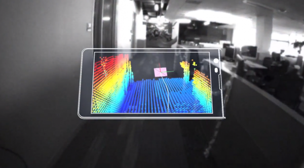 Googlen Project Tangossa on kyse 3D-mallin syntymisestä puhelimella kuvaamalla.
