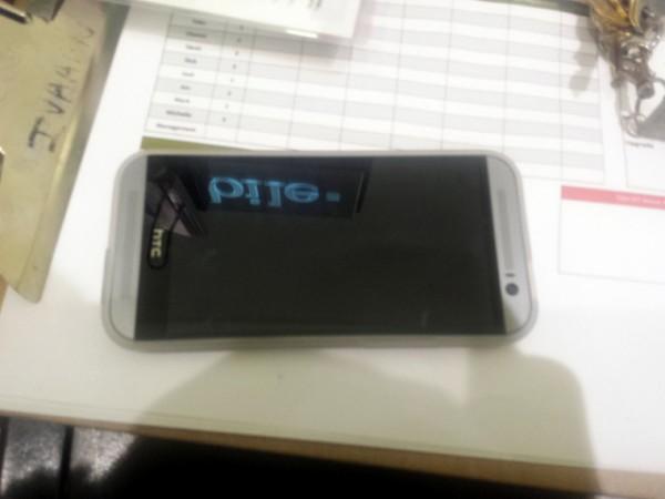 HTC:n uusi One HardForum-keskustelupalstalla julkaistussa kuvassa