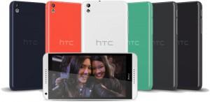 HTC Desire 816 eri väreissä