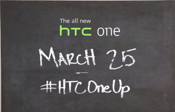 Täysin uusi HTC One luvassa 25. maaliskuuta