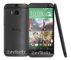 HTC:n uusi One mustana väriversiona @evleaksin aiemmin vuotamassa lehdistökuvassa