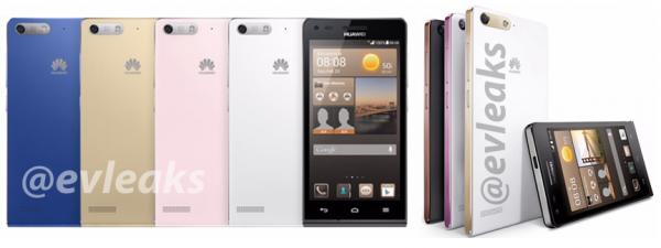Huawei Ascend G6 @evleaksin julkaisemissa kuvissa