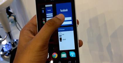 Jollan Sailfish launcher Sonyn Android-puhelimessa