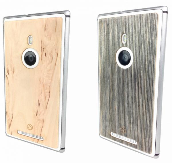 Lastu-kuori Lumia 925:lle visakoivuisena ja kelopuisena