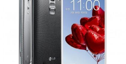 LG G Pro 2 eri värivaihtoehtoina