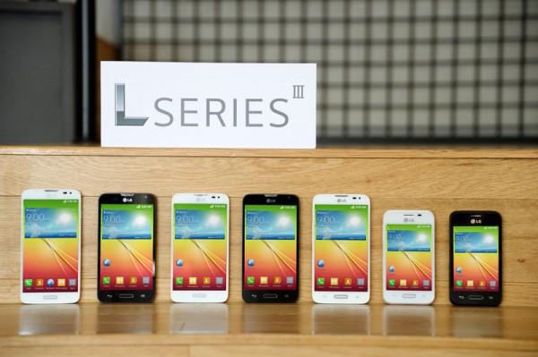 LG:n L Series III -sarjan uutuudet: L90, L70 ja L40 mustana ja valkoisena värivaihtoehtoina