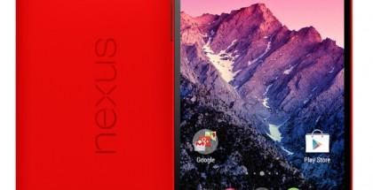 LG:n valmistama Nexus 5 punaisena