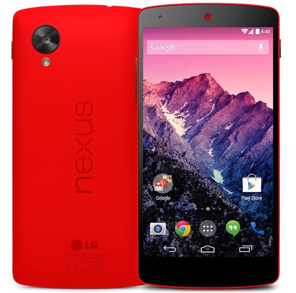 Nexus 5 punaisena