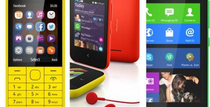 Nokian Mobile World Congressin satoa: 220, Asha 230 ja kolme X:ää