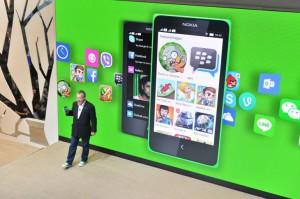 Android-sovellukset ovat keskiössä Nokian X-ajattelussa