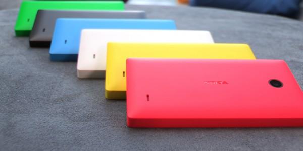 Nokia X ja pirteät värivaihtoehdot