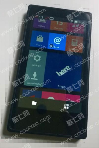 Nokia X kiinalaisvuotokuvassa - kuvakkeet muistuttavat Windows Phonesta