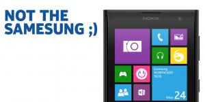 Nokian twiittaama kuva