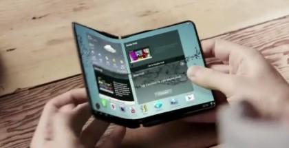 Samsungin taipuva tablettikonsepti aiemmallta videolla