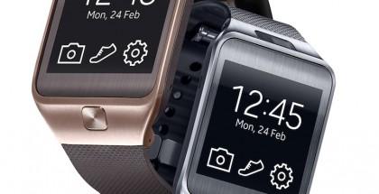 Samsung Galaxy Gear 2, joka käyttää Samsungin omaa Tizen-käyttöjärjestelmää