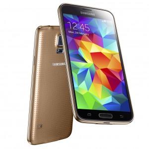 Samsung Galaxy S5 kuparinkultaisena värivaihtoehtona