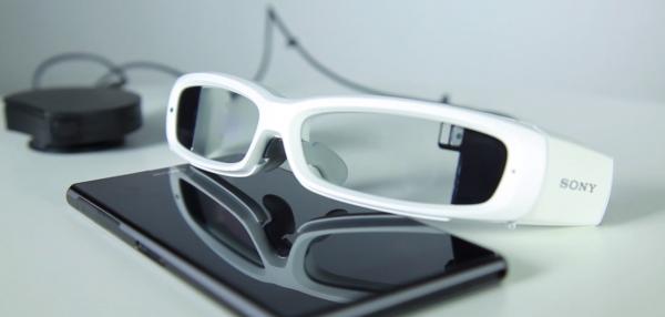 Tältä näyttä Sonyn SmartEyeGlass-älylasiprototyyppi