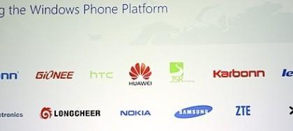 Tässä ovat Microsoftin Windows Phone -kumppanit