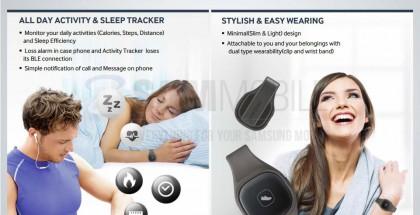 Kuvakaappaus Samsungin diaesityksestä koskien S Bandia