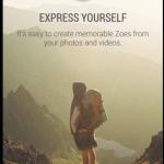 Sense 6.0:n erillinen Zoe-sovellus