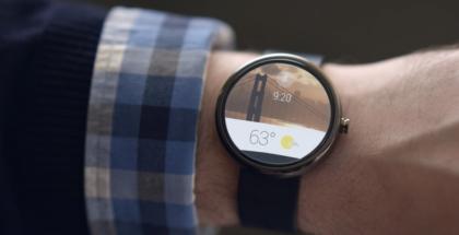 Android Wear Motorolan Moto 360 -älykellossa