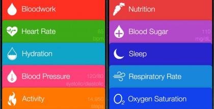 Tältä pitäisi näyttää Applen uusi Healthbook-sovellus