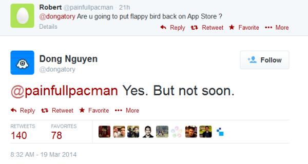 Nguyen vahvisti: Flappy Bird on tekemässä comebackin