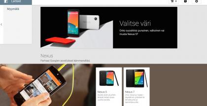 Google Play -laitekauppa Suomessa