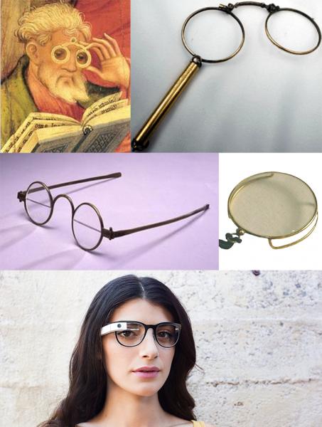 Silmälasien historiaa - jatkajana Google Glass?