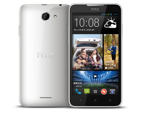 HTC Desire 316 takaa ja edestä
