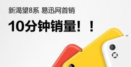 HTC Desire 816:tä myytiin Kiinassa 50 000 puhelinta 10 minuutissa