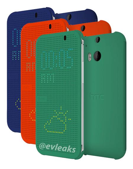 HTC:n Onen pistemäisen suojakuoret eri väreissä @evleaksin julkaisemassa kuvassa