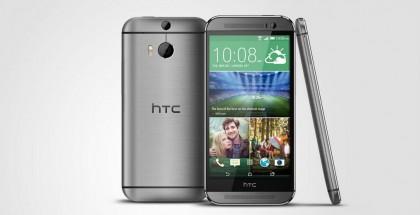 Vertailun vuoksi tässä alkuperäinen HTC One (M8) viiden tuuman näytöllä