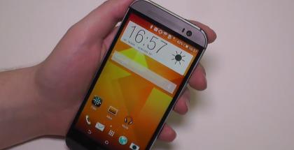 HTC:n uusi One esiintyi jo aiemmin kattavasti videolla