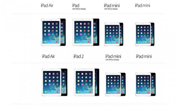 iPad 2 väistyy 4. sukupolven Retina iPadin tieltä