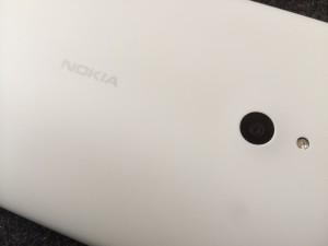 Nokia Lumia 1320:sta löytyy viiden megapikselin kamera