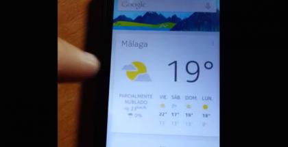 Google Now Nokian X:ssä