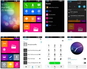 Nokia X interface -sovelluksen antia