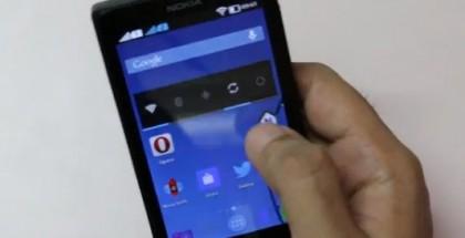 NOVA Launcher Nokia X:ssä