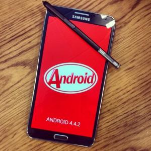 Samsyng Galaxy Note 3 päivittyy tuoreimmalla Android KitKatilla