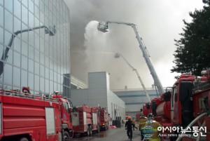 Samsungin alihankkijan piirilevytehdas paloi Etelä-Koreassa